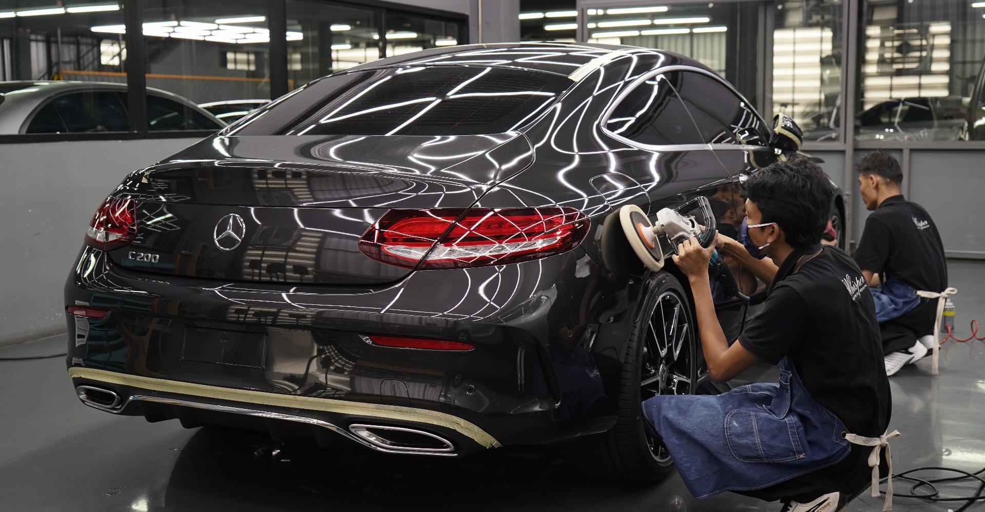 ขัดเคลือบสี Benzมือสอง เคลือบแก้ว whisper executive